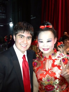 Brandon Goldman & a Chinese Welcome