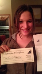 Kayla's Immersion Certificate