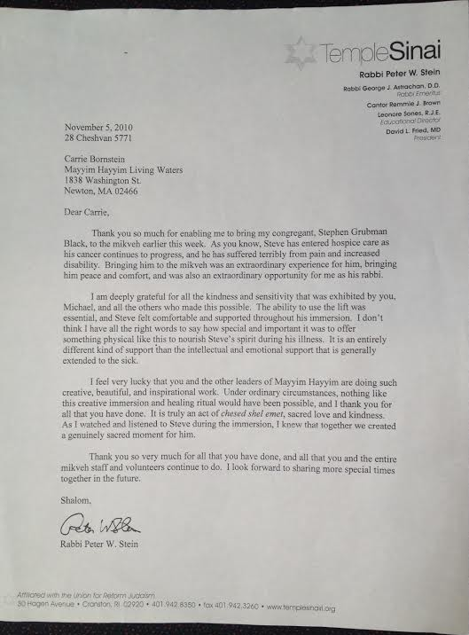 Peter Stein Letter (1)