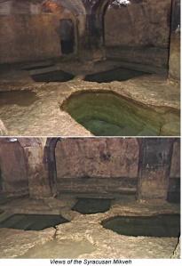 Mikveh in Syracuse, Sicily